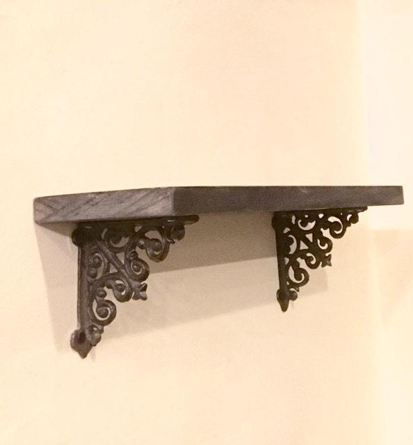 shelf bracketssmall shelf bracketsrustic shelf bracketscast iron shelf brackets - Decorative Metal Shelf Brackets