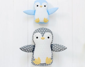 Penguin Plush Penguin Toy Penguin Soft Toy Penguin Softie Penguin Stuffed Animal Penguin Baby shower gift Nursery decor Baby Penguin gift