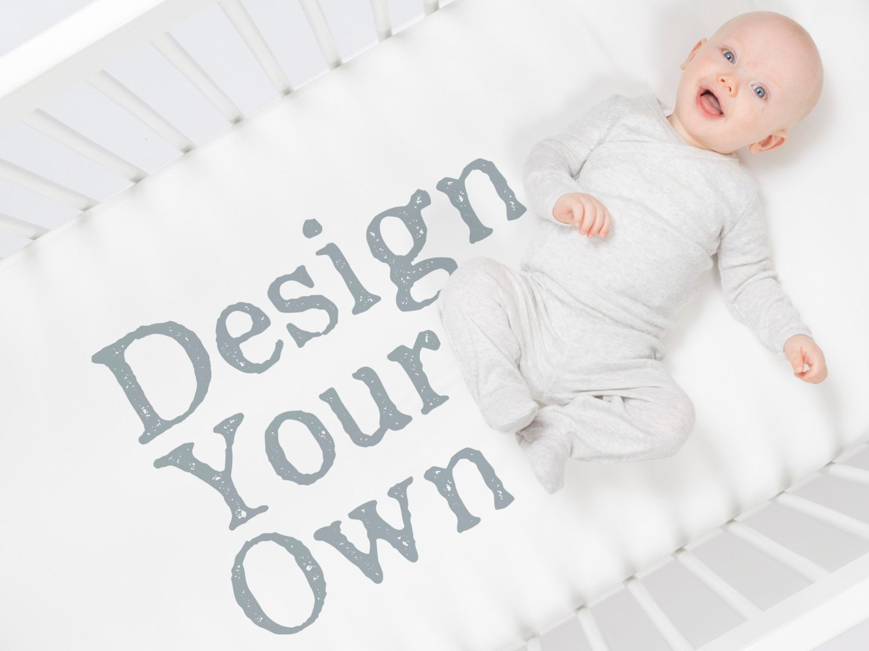 Custom Crib Sheet By Carousel Designs Design Your Own Crib