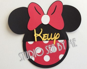 "5"" Cruise Personalized Minnie Door Decoration"