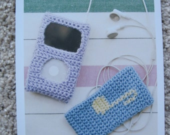 Crochet Pattern - iPod Covers