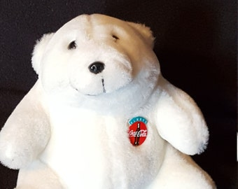 Coca Cola Plush Bear,  Always Coca Cola, 1993 Plush Bear, Coca Cola Collectible Bear