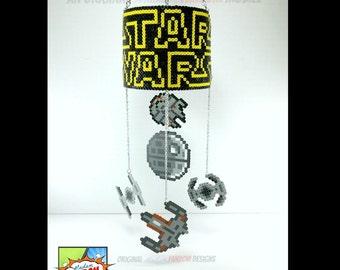 Star Wars Mobile - Star Wars Decor Hanging Mobile - Star Wars Wedding or Housewarming Gift