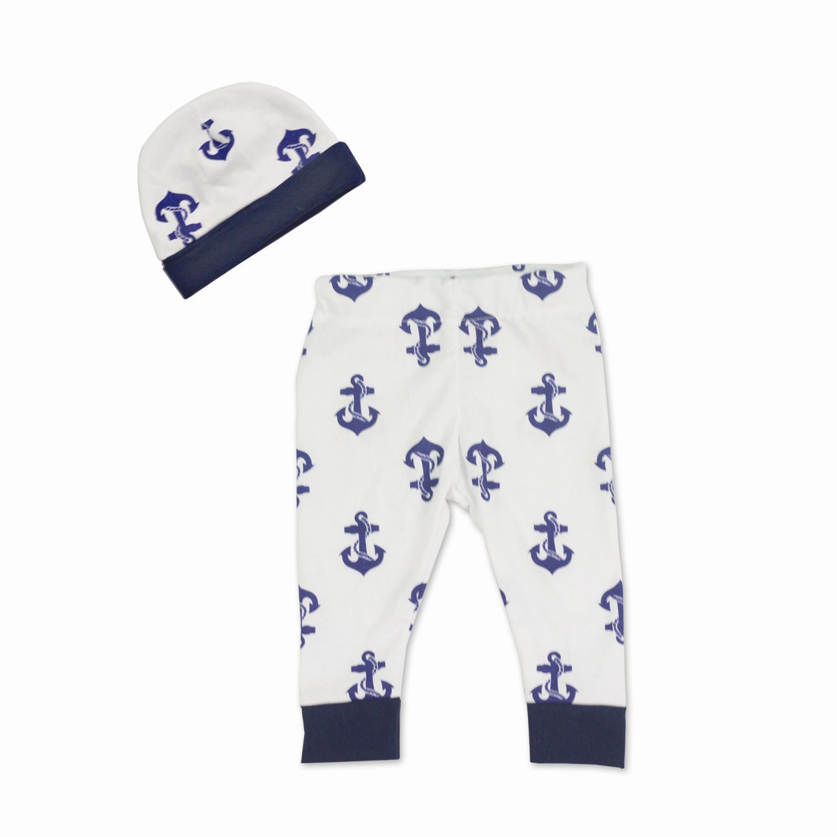 Baby Clothes for Boys Navy Anchor Baby Clothes Nautical