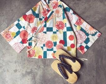Lost in Kyoto collection floral spring blossom short kimono
