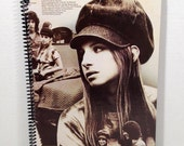 Barbra Streisand Handmade Vintage Record Cover Notebook Album Jacket Journal Ephemera || Unique Gift