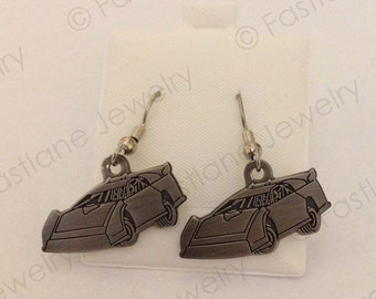 Dirt Late Model Charm Dangle Earrings- Racing Jewelry by Fastlane Jewelry Exclusively