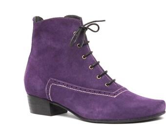Purple cowboy boots | Etsy