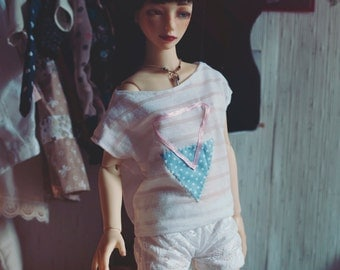 BJD Pastel Triangle bat shirt