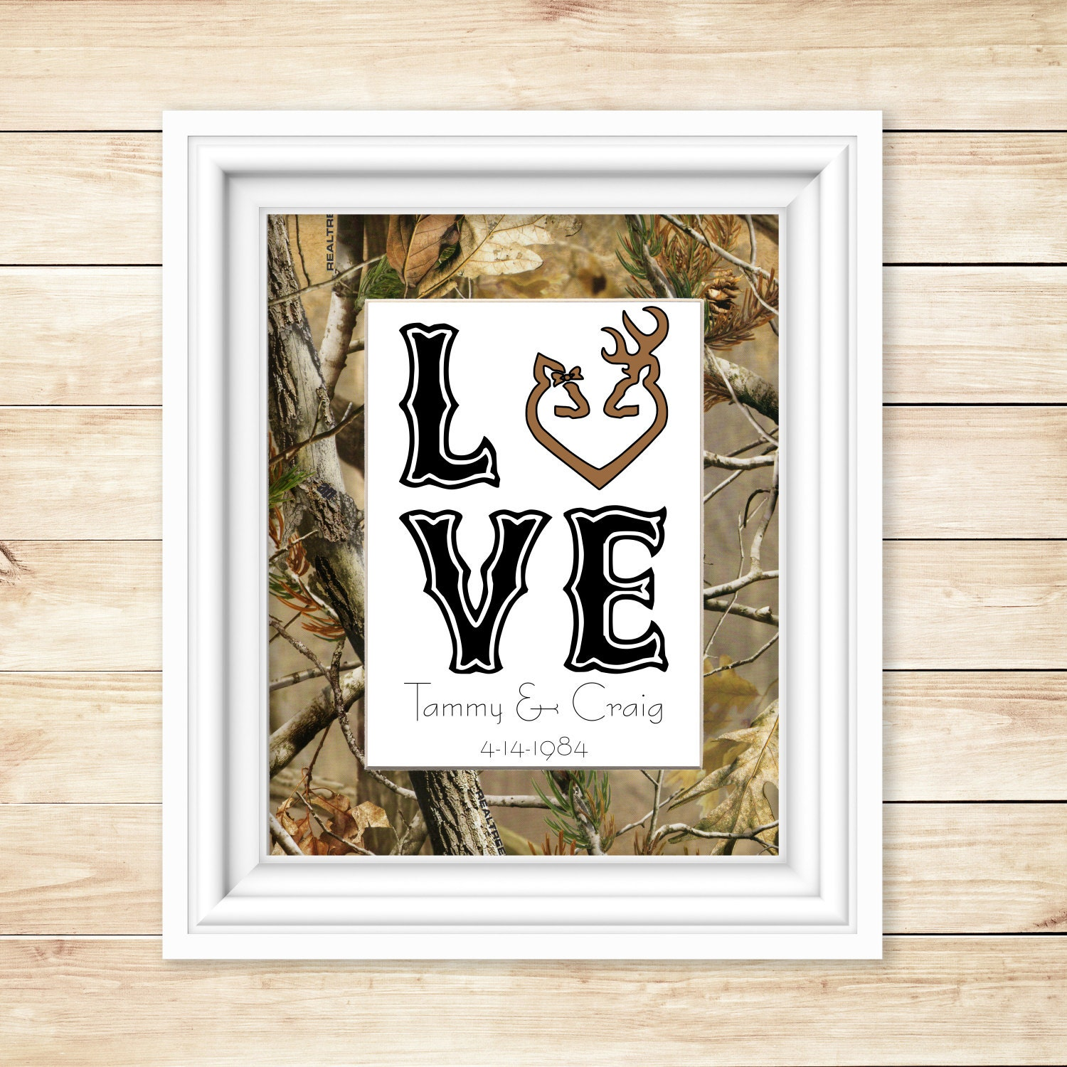 Hunting Wedding Decor Hunting Decor For The Home Camo Shower Gift Camo Love