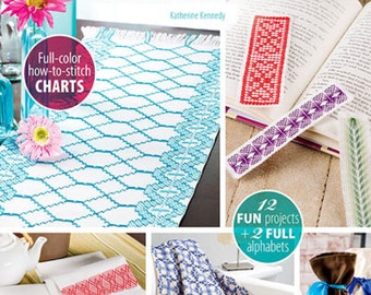 Learn Swedish Weaving & Huck Embroidery Book by Katherine Kennedy  Huck Embroidery Patterns
