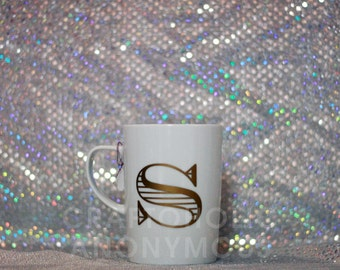 Personalized Initial Coffee Mug (18 oz.)