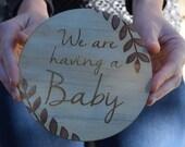 Pregnancy Announcement Plaques