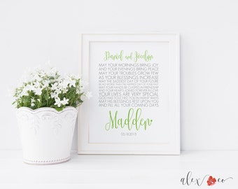 Unique Wedding Gifts Ireland : wedding printable personalized wedding gift irish wedding gift irish ...