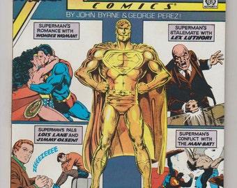 Action Comics; Vol 1, 600, Copper Comic Book.  NM+. May 1988.  DC Comics