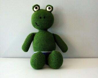 Frog Stuffed Animal Frog Amigurumi Frog Stuffed Animal Frog Plush Toy Frog Toy Frog Stuffed Toy Frog Amigurumi Stuffed Toy Shower Gift