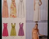 Simplicity 2692 womens ladies girls dress pattern prom gown fancy size size 12-20