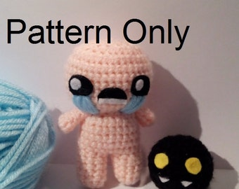 PATTERN: Crochet Isaac from The Binding of Isaac, and The Binding of Isaac Rebirth