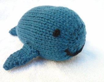knitted whale   Etsy UK
