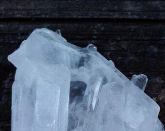 Ice Cluster | Clear Quartz Cluster | Terminated Quartz Cluster | Self Standing Cluster | Healing Cluster | Elegant Cluster | Meditation Gems