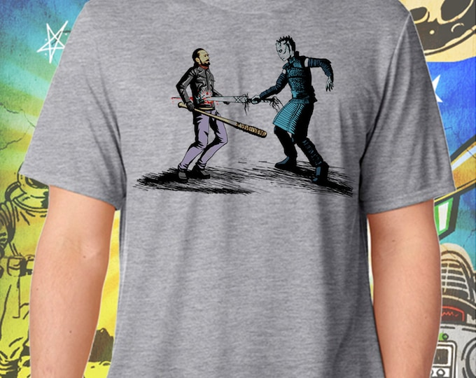 The Nights King Picks Walking Dead's Negan Gray Men's T-Shirt