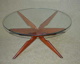 Danish Teak coffee table - Vladimir Kagan for Sika Mobler - 1960s