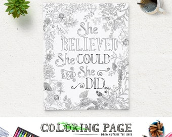 88 Digital Art Coloring Page
