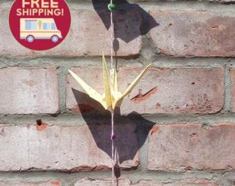 Birds origami garland - FREE SHIPPING
