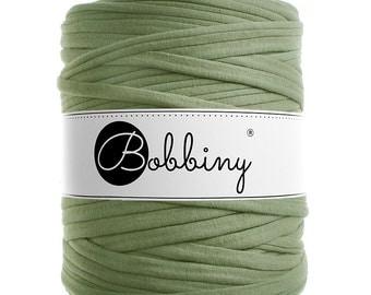 Light olive green  t-shirt yarn 131yd ( 120m) long E-025