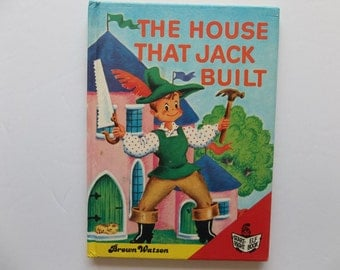 The House That Jack Built first edition Brown Watson, start right elf book