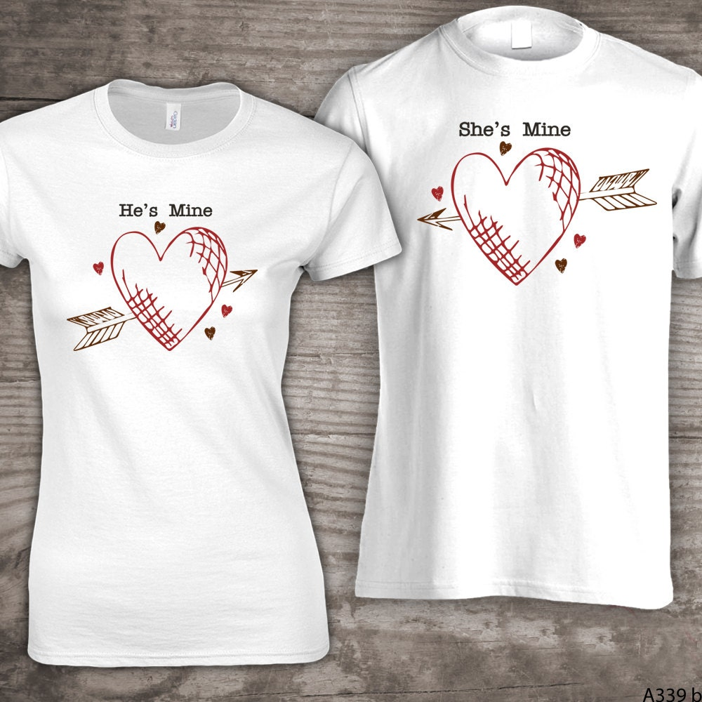Personalized Valentines Day Family T Shirts He 39 S