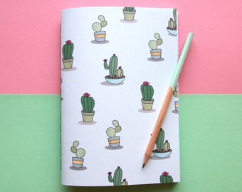 A5 Succulent Notebook / Cute Stationery / Back to School