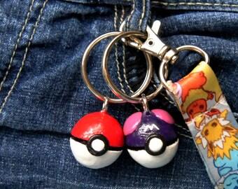 Poke Ball Key Chain