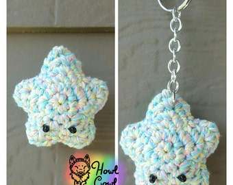 Candy Sprinkles Amigurumi Star