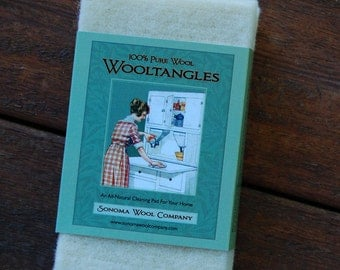 Wooltangles ~~ Wool Cleaning Pads!