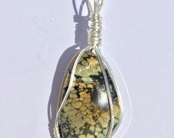 Tree Frog Variscite Necklace