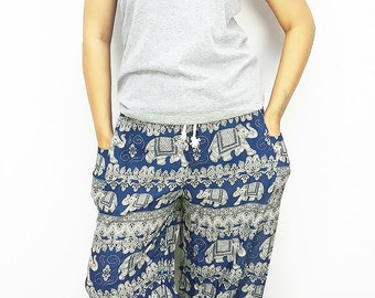 SALE!!!FROM 15.99 Elephant Pants Super Comfy plussize Teal Hippie/trouser/Tribal/Gypsy/Aladdin/Genie/Yoga/Meditation/RelaxPants CasualSummer