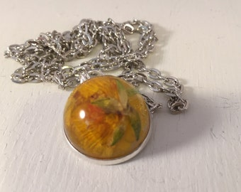 Botanical Jewellery - Real Buttercup Necklace