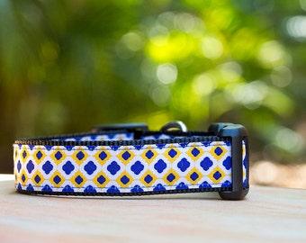 Moroccan Dog Collar / Tiled Dog Collar / XS-XL/ Dog Collars Australia