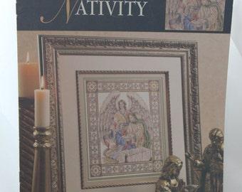 Teresa Wentzler's Nativity by Leisure Arts Cross Stitch