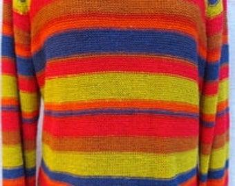 VINTAGE  CRAZY HORSE Sweater Size xl SWTR045