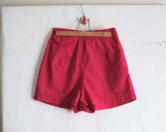 10% SALE - Red Hot 1950s Summer Shorts