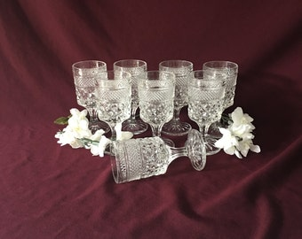 Wexford by Anchor Hocking | Wine Glasses | Set of Eight | 5 oz