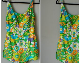 1960s/1970s COLE OF CALIFORNIA Play-suit/Swimsuit
