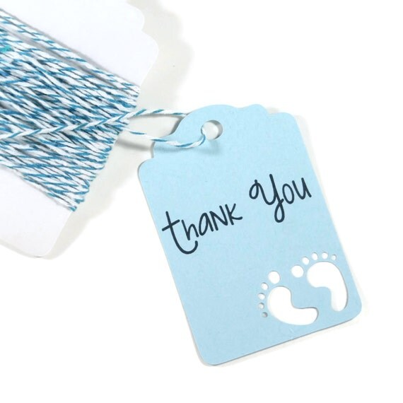 Baby Blue Bathroom Set: Light Blue Baby Shower Tags Set Of 20 By TheBabyShowerMedley