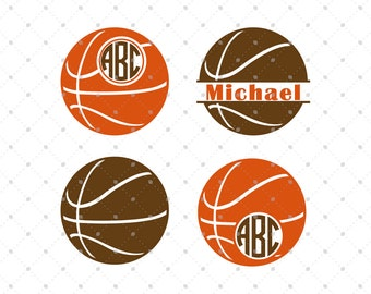 Basketball SVG Cut Files, Basketball Love svg files, Basketball Ball svg cut files for Cricut and Silhouette, svg files