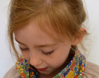Liberty Print Infinity Scarf For Girls