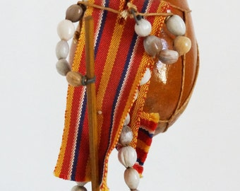 Ecuadorian seed and nut Doll from 1970s