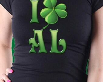 I Shamrock Alabama Patrick's Day T-Shirt