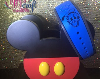 Donald Duck Magic Band Decal-FREE Shipping